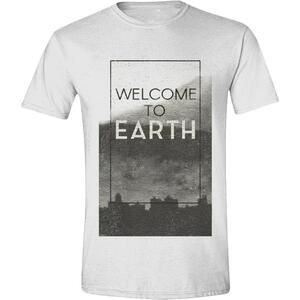 T-Shirt unisex Independance Day. Welcome to Earth