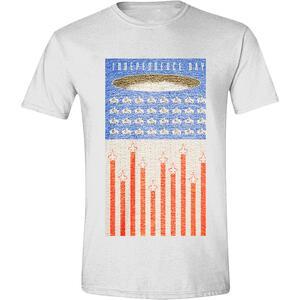 T-Shirt unisex Independance Day. Flag