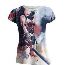 T-Shirt unisex DC Comics. Wonder Woman Art Full Printed