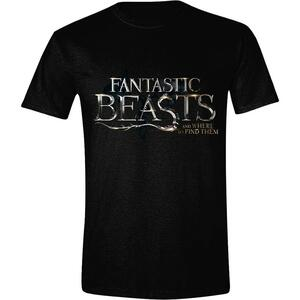 T-Shirt Unisex Fantastic Beasts And Where To Find Them. Logo Black