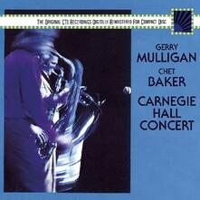 Carnegie Hall Concert - CD Audio di Chet Baker,Gerry Mulligan