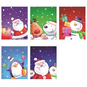 Chiudipacco Natale Unicef Confezione 10 Pezzi Unicef Cartoleria