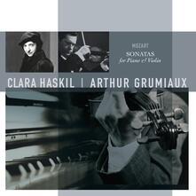 Sonate per Pianoforte - Vinile LP di Wolfgang Amadeus Mozart,Arthur Grumiaux,Clara Haskil