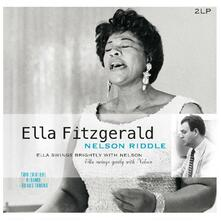 Swings Brightly With - Vinile LP di Ella Fitzgerald,Nelson Riddle