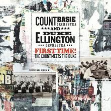 First Time. The Count Meets the Duke (180 gr.) - Vinile LP di Duke Ellington,Count Basie