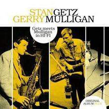 Getz Meets Mulligan in Hi-Fi - Vinile LP di Stan Getz,Gerry Mulligan