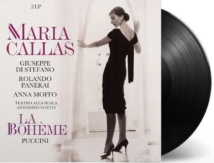 Vinile La Bohème (180 gr.) Maria Callas Giacomo Puccini Giuseppe Di Stefano