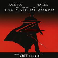 La maschera di Zorro (Colonna sonora) (Coloured Vinyl) - Vinile LP di James Horner