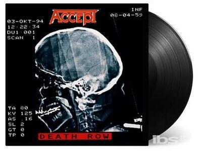 Death Row - Vinile LP di Accept
