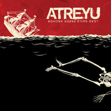 Lead Sails Paper Anchor (Limited 180 gr. Red and Black Mixed Coloured Vinyl Edition) - Vinile LP di Atreyu