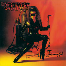 Flamejob (Limited 180 gr. Orange and Yellow Swirled Coloured Vinyl Edition) - Vinile LP di Cramps