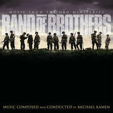Band of Brothers (Colonna Sonora) (Limited 180 gr. Silver and Black Marbled Coloured Vinyl Edition) - Vinile LP