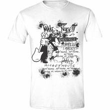 T-Shirt Unisex Tg. M. Disney: Mickey Mouse - Make Some Noise White