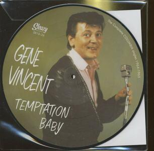 Temptation Baby - Vinile 10'' di Gene Vincent