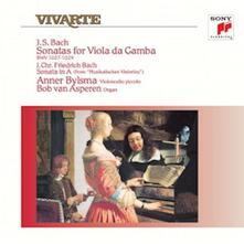 Sonate per viola da gamba - Vinile LP di Johann Sebastian Bach