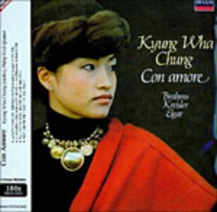 Con amore - Vinile LP di Johannes Brahms,Edward Elgar,Fritz Kreisler,Kyung-Wha Chung