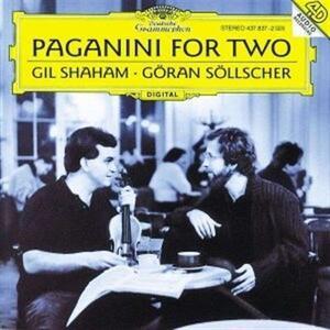 Paganini for Two - Vinile LP di Niccolò Paganini