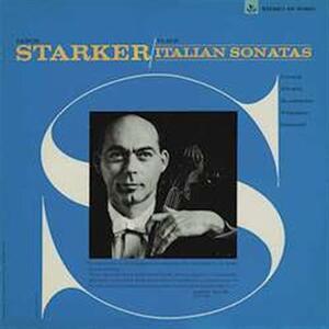 Sonate italiane - Vinile LP di Janos Starker