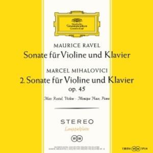 Sonate per Violino e Pianoforte Op.45 - Vinile LP di Maurice Ravel