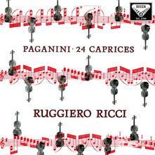 24 Capricci Op.1 - Vinile LP di Niccolò Paganini,Ruggiero Ricci