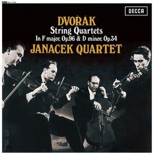 Quartetti per archi op.96, op.34 - Vinile LP di Antonin Dvorak,Janacek Quartet