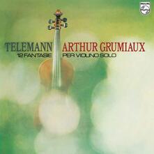12 Fantasie per violino solo - Vinile LP di Georg Philipp Telemann,Arthur Grumiaux