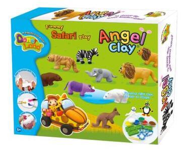 Attività creative. Cute Funny Safari play kit