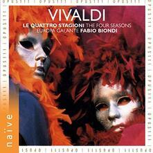Le Quattro Stagioni (180 gr.) - Vinile LP di Antonio Vivaldi,Fabio Biondi,Europa Galante