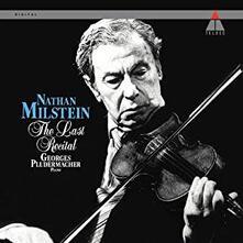 The Last Recital (180 gr.) - Vinile LP di Nathan Milstein
