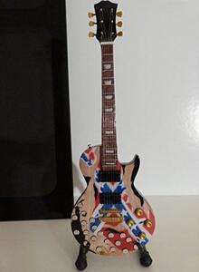 Chitarra in miniatura Black Label Society. Zakk Wylde. Gibson Les Paul Rebel & Beercaps