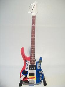 Chitarra in miniatura Red Hot Chili Peppers. Fender Psychedelic Jazz Bass