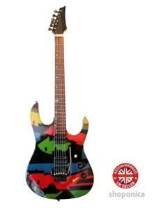 Green Day. B.J. Armstrong. Fender Stratocaster. Billy Joe Armstrong