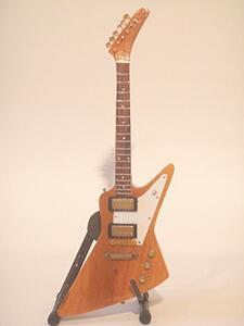 Chitarra in miniatura U2. The Edge. Gibson Explorer