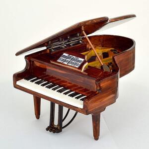 Mini Pianoforte a coda Replica Mod. Brown