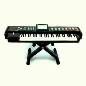 Mini pianola elettrica da collezione in legno replica mod. Black