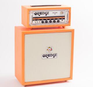Mini amplificatore doppio da collezione replica mod. Orange