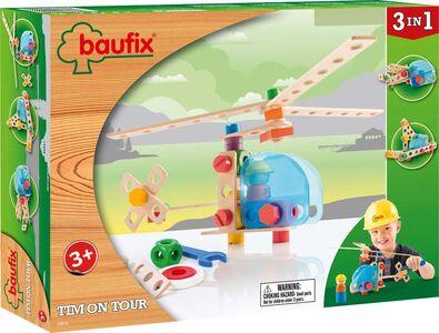 Giocattolo Baufix Costruzioni In Legno. Builder Tim Baufix
