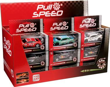 Carrera - Pull & Speed - Mixed Cars Assortimento