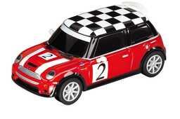 Giocattolo Carrera Pull & Speed. Mini Cooper Rossa Carrera