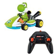 Giocattolo Carrera R/C. Mario Kart. Yoshi. Kart Racer With Sound Carrera