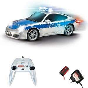 Carrera Radiocomandati. On-Road Porsche 911 Polizei 1:16
