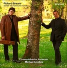Sonate per Violino - Vinile LP di Richard Strauss