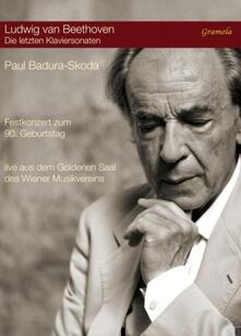 The Last Piano Sonatas. Concerto per celebrare i 90 anni di Paul Badura-Skoda (DVD) - DVD