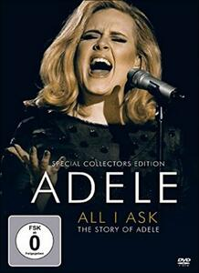 Adele. All I Ask. The Story Of Adele - DVD