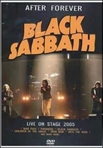 Black Sabbath. After Forever - DVD