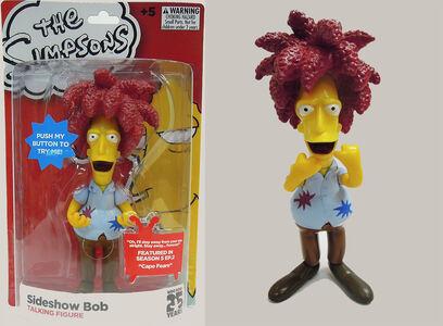 Giocattolo I Simpson. Telespalla Bob Deluxe Figure Headstart