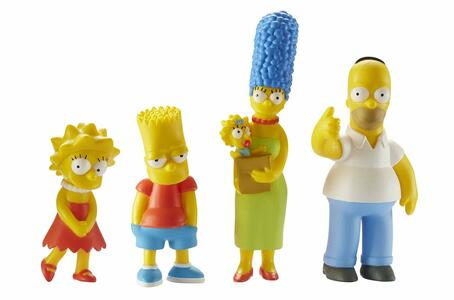 Action figure. The Simpsons Famiglia - 48