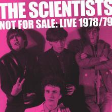 Not for Sale. Live 1978-1979 - Vinile LP di Scientists