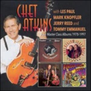 Four Master Class Album - CD Audio di Chet Atkins