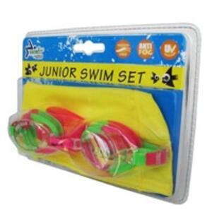 Sport1 set occhialino bimbo con cuffia (Occhialini) / swim goggles children with swim cap (Goggles)